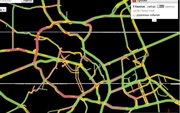 Движение по киевским мостам перекрыто – Яндекс пробки
