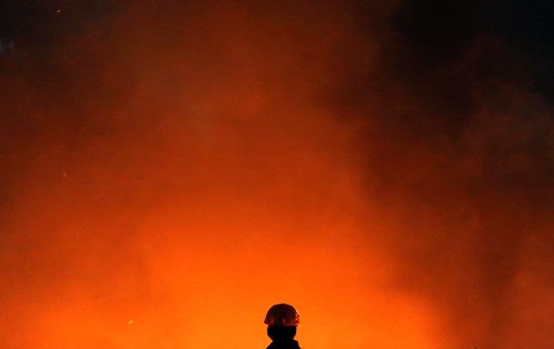 Неизвестные сожгли одесский офис Батькивщины