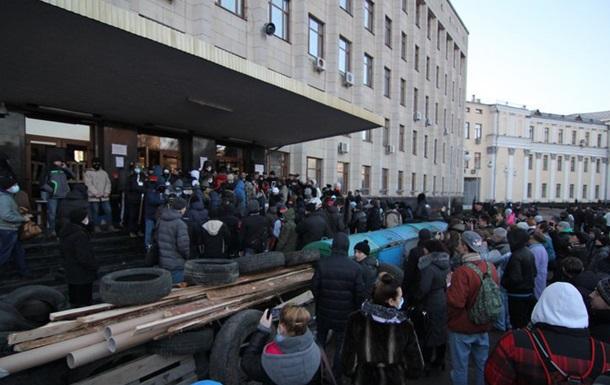 В Житомире активист Майдана пытался совершить акт самосожжения