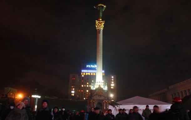 Обстановка на Майдане остается спокойной