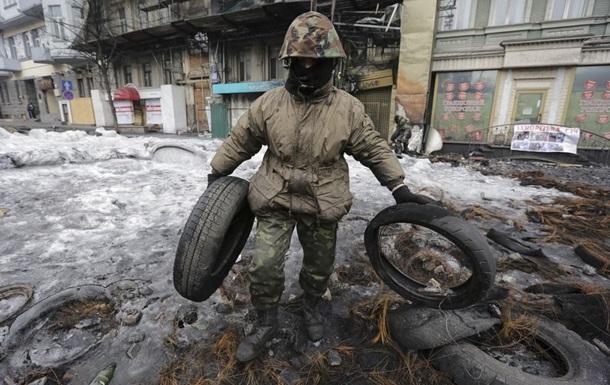 Обстрел на Майдане прекратился в 23:00 четверга