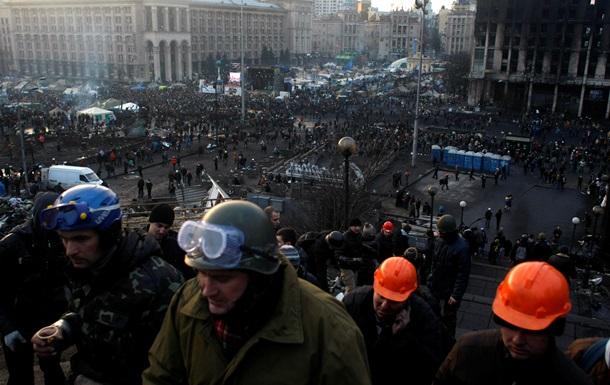 Активисты не покинут Майдан Незалежности
