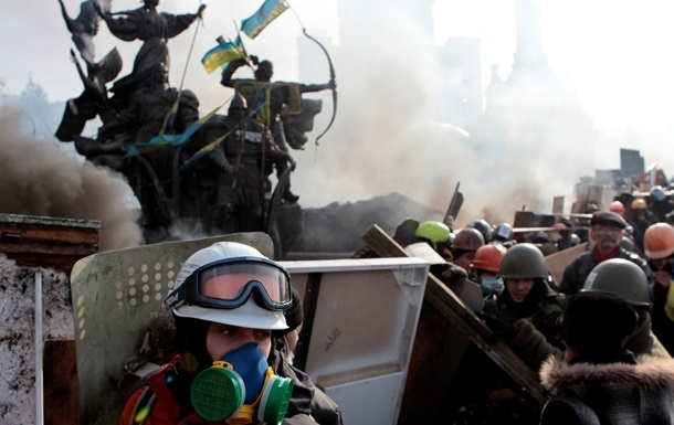 Таксист вместо вокзала привез антимайдановцев на Майдан