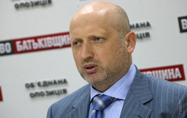 Турчинов поручил депутатам до вторника договориться о создании нового парламентского большинства