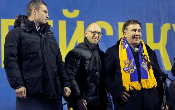 На этой площади вы удивили весь мир - Саакашвили