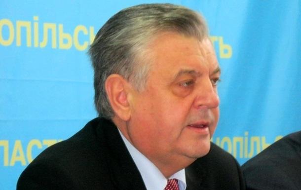 Председатель Тернопольской ОГА Валентин Хоптян ушел в отставку