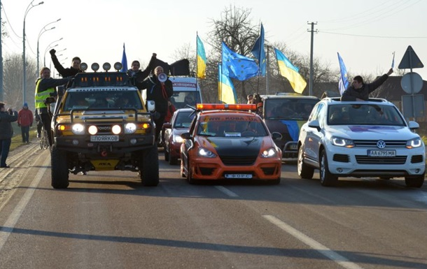 Активисты Автомайдана требуют роспуска ГАИ