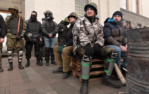 Третья сотня Майдана возмущена действиями Рады