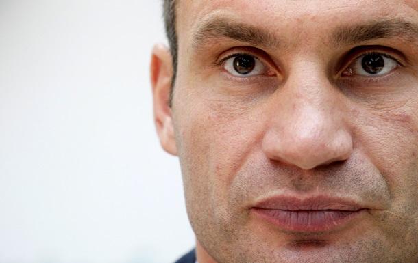 Кличко заявил, что будет баллотироваться в президенты