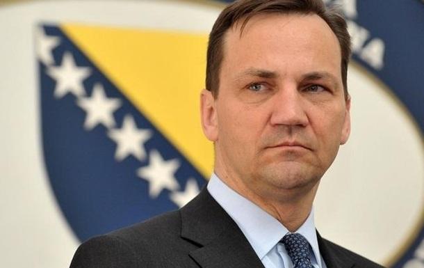 Сикорский призывает украинскую власть помнить о правах нацменьшинств