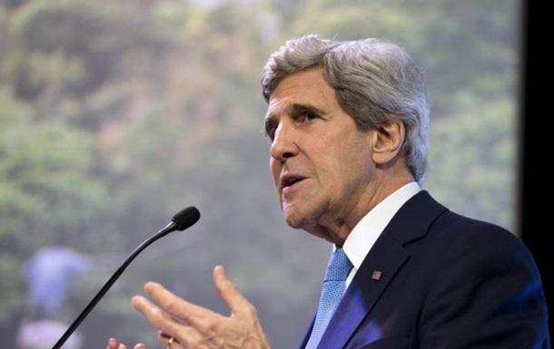 Это не Запад против Востока и Украина не выбирает между США и Россией - Керри