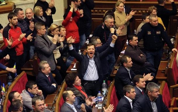 Рада 27 февраля попробует создать коалицию и проголосовать за новое правительство