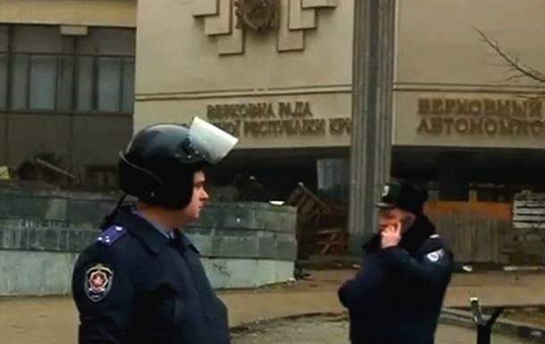 Вокруг здания крымского парламента увеличили зону оцепления