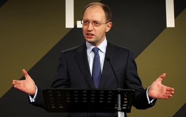 Яценюк: Мы будем решать все конфликты исключительно политическими путями