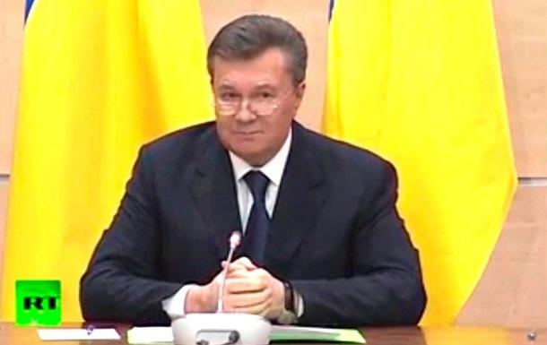 Янукович рассказал, что покинуть Украину ему помогли  патриотически настроенные  офицеры
