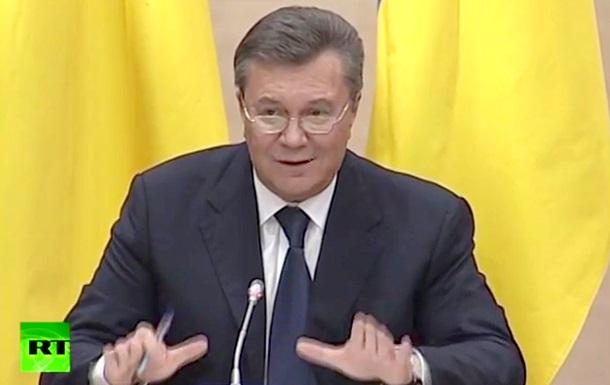 Янукович извинился перед бойцами Беркута