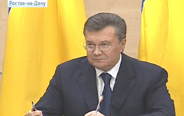 Янукович не осуждает действия ПР