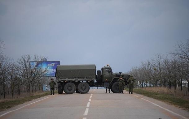 Российские военные в Крыму вывозят оружие из двух воинских частей - СМИ