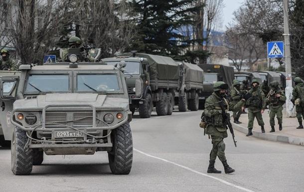 Силовые структуры перешли на сторону властей полуострова - вице-премьер Крыма