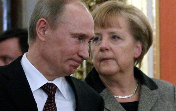 Путин в разговоре с Меркель: Меры, предпринимаемые Россией, полностью адекватны
