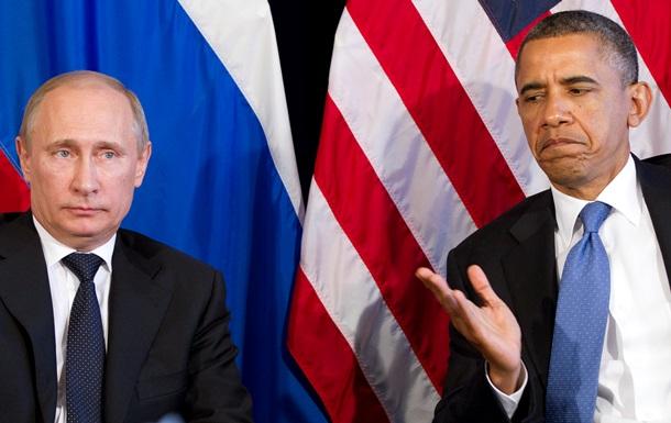 Вердикт прессы США: против Путина Обама - слабак