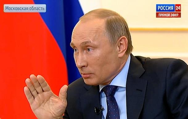 Новая власть не вправе от лица всей страны определять будущее Украины - Путин