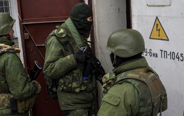 Пророссийские радикалы выключают свет, воду, блокируют входы и въезды в воинские части ВМС в Крыму - Минобороны