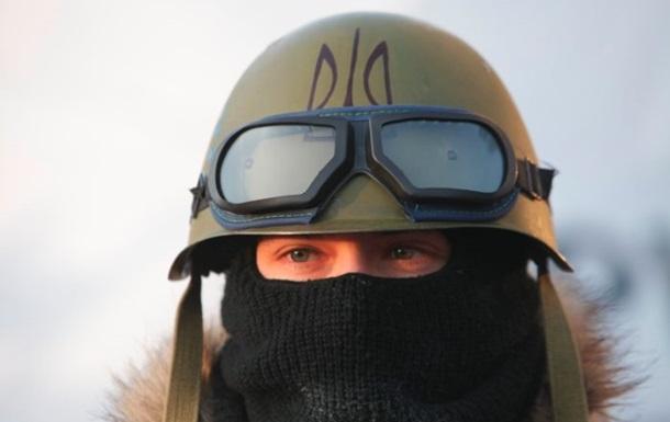 Боевики Правого сектора ворвались на заседание Рады в Василькове