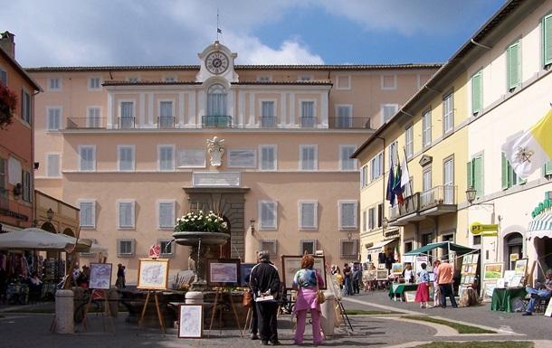 Летняя загородная резиденция папы римского открылась для всех желающих