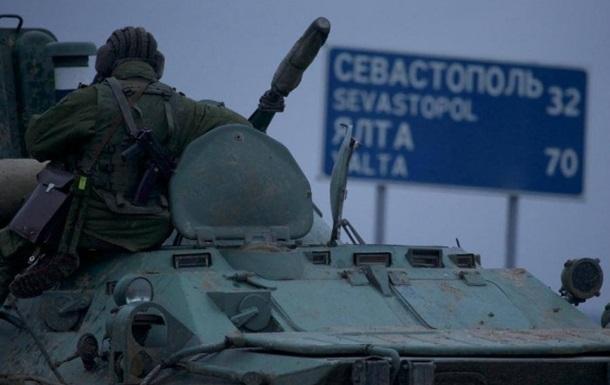 Российские военные останутся в Крыму до лета - ТВ