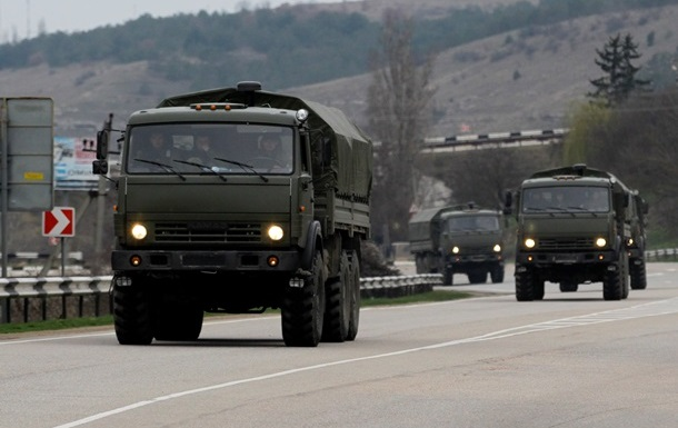 Российские войска продолжают прибывать в Крым – Госпогранслужба
