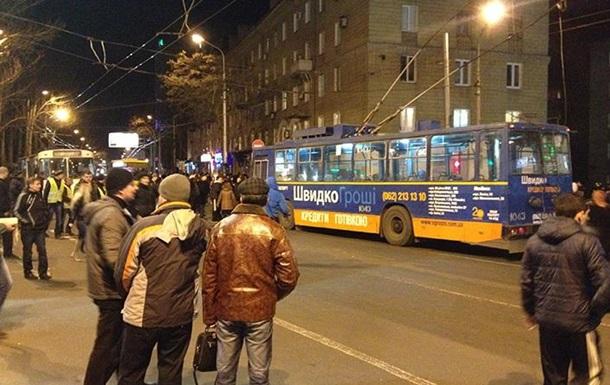В Донецке митингующие пикетировали СБУ, требуя отпустить Губарева
