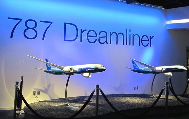 На самолетах Dreamliner обнаружена неисправность крыльев