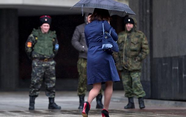 В Симферополе напали на съемочную группу Associated Press