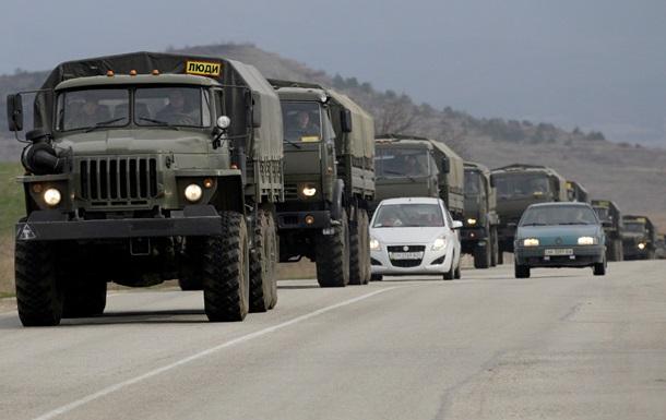 Минобороны передислоцирует военную технику
