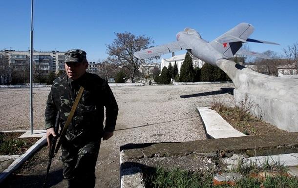 Российские военные обустраивают посты на Перекопском перешейке - Погранслужба