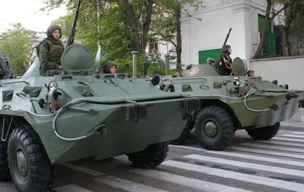 Через Запорожскую область проехала колонна военной техники
