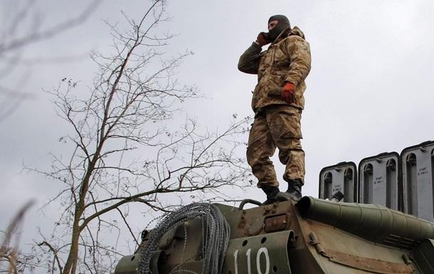 Украинская армия в действии. Фоторепортаж с блокпостов на границах с Крымом