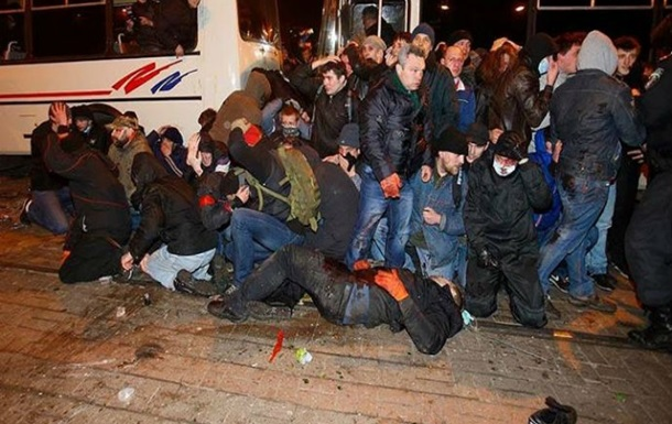 В донецкую милицию доставляют более 300 участников вчерашних митингов