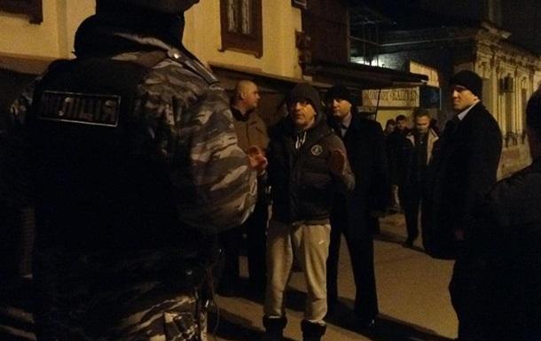 Кернес прибыл на место перестрелки в Харькове