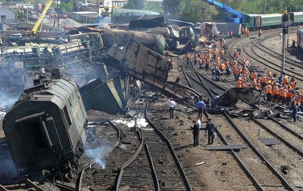 В Николаевской области сошли с рельсов 12 вагонов с минеральными удобрениями