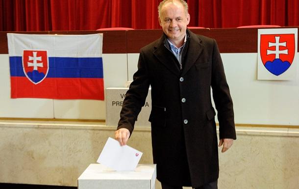 В Словакии завершился первый тур президентских выборов