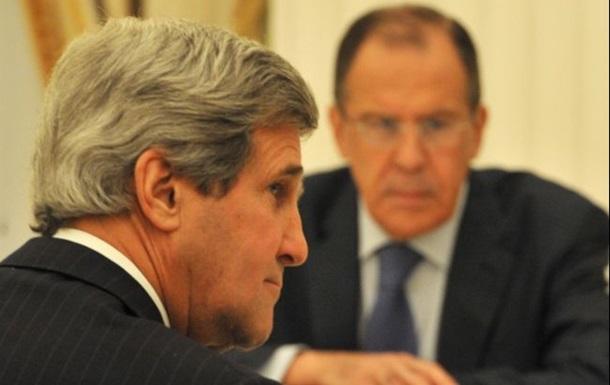 Лавров и Керри провели телефонный разговор о ситуации в Украине и в Крыму