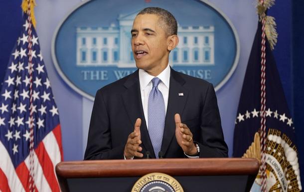 Барак Обама дал пресс-конференцию по ситуации в Украине