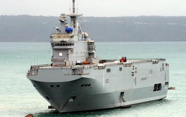 Франция готова разорвать контракт с Россией на поставку боевых кораблей Мистраль