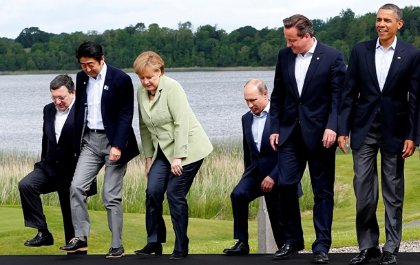 России приостановили членство в G8 – МИД Франции
