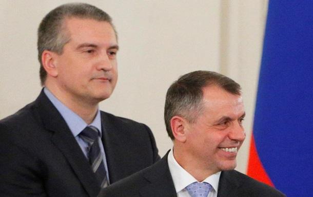 Аферист Константинов и Гоблин Аксенов . Украинские журналисты сняли видеосюжет о правителях Крыма