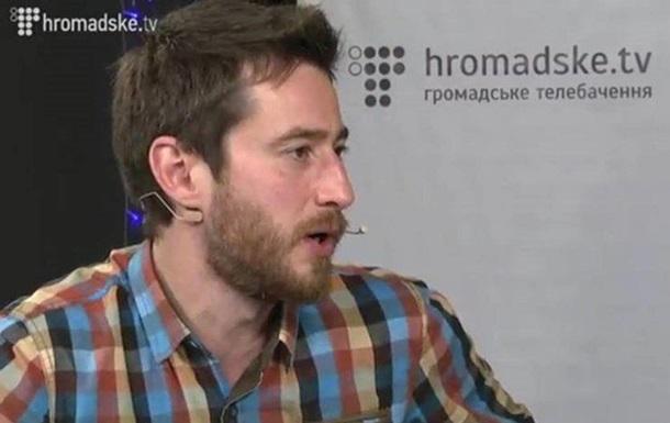 Журналист  Громадське ТV  заявил, что это из-за него свободовцы побили главу НТКУ