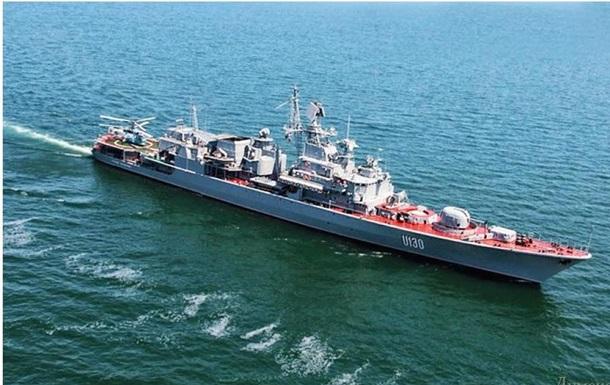 Гетман Сагайдачный не пропустил корабли ВМС России в территориальные воды Украины - СМИ