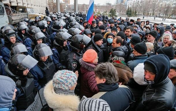 Милиция установила личности зачинщиков беспорядков в Донецке